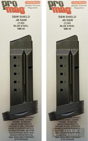 ProMag S&W Smith & Wesson M&P SHIELD .40SW 7 Round MAGAZINE SMI30