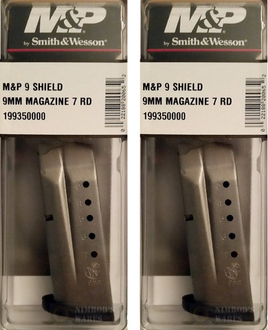 S&W M&P 9 Shield 9mm 7Rd Magazine 19935
