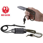 CRKT Ruger CORDITE Compact Survival KNIFE + SHEATH R1301KC
