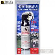 Frontiersman BEAR Pepper SPRAY 30ft Range 7.9 oz FBAD03