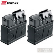 SAVAGE 10 FCP-SR Scout .308 Winchester 10 Round MAGAZINE 2-PACK 55185