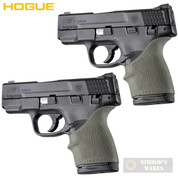 HOGUE S&W M&P SHIELD 45 Kahr P9 P40 CW9 CW40 GRIP SLEEVE 2-PACK 18301 ODG