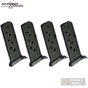 Hi-Point C9 916 CF380 9mm .380 ACP 8 Round MAGAZINE 4-PACK CLP9C