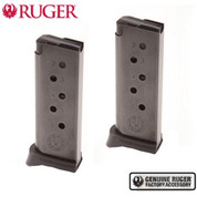 Ruger LCP™ .380 Magazine 2-PACK 6 Round w/ Extended Floorplates 90333