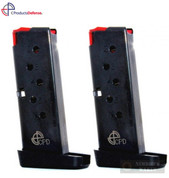 CProducts TAURUS TCP PT-738 .380 ACP 6 Round MAGAZINE 2-PACK 6X38141208CPD