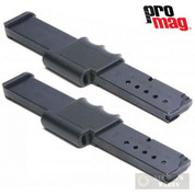 ProMag SMIA7 Smith & Wesson Bodyguard .380ACP 15 Round Blued Magazine 2-PACK