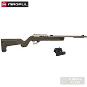 MAGPUL X-22 BACKPACKER STOCK + Optic MOUNT for Ruger 10/22 TakeDown MAG808-ODG MAG799-BLK