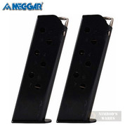 Mec-Gar MGWPPKSSTB Walther PPK/S 380ACP 7Rd Magazine 2-PACK