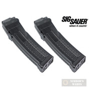 SIG SAUER MPX Gen1 9mm 10 Round Magazine 2-PACK BLACK MAG-MPX-9-10
