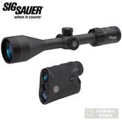 SIG Whiskey3 SCOPE + KILO1250 Rangefinder 3-9x50mm / 6x20mm PACK SOW33003HVP