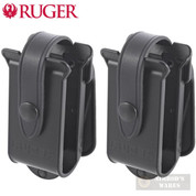 RUGER 10/22 TWO BX-Magazines POUCH 2-PACK w/ Paddles IWB 90401