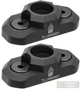 UTG Pro M-LOK QD Sling Swivel ADAPTOR 2-PACK TLUSW001