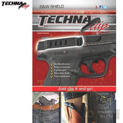 Techna Smith & Wesson SHIELD 9mm .40 Belt CLIP IWB Conceal Carry RH SHBR