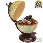 PS GUN GLOBE Conceals THREE Handguns / Valuables GG2