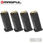 MAGPUL 10 GL9 GLOCK 19 26 9mm 10 Round MAGAZINE 4-PACK MAG907-BLK