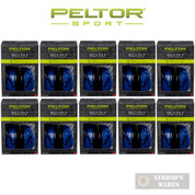 PELTOR Sport Bull's Eye 9 EAR MUFFS 10-PACK NRR 25 dB 97007