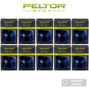 PELTOR Sport Bull's Eye 9 EAR MUFFS 10-PACK NRR 25 dB 97007