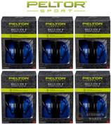 PELTOR Sport Bull's Eye 9 EAR MUFFS 6-PACK NRR 25 dB 97007