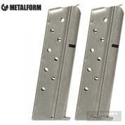 "Metalform 1911 9mm 9 Round MAGAZINE 2-PACK + PADS (""Z"" Marked) 9793"