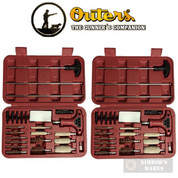 OUTERS Universal Gun Cleaning KIT 2-PACK 29-pc each w/ Screwdrivers 70103