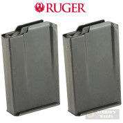 Ruger GUNSITE SCOUT Rifle M77 GS MAGAZINE 2-PACK 5.56 NATO .223 REM 10 Rounds 90458