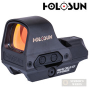 Holosun SIGHT Open Reflex Circle Dot SOLAR / BATTERY QD HS510C - Add to cart for sale price!