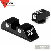 Trijicon GL01 Night Sights Set Green Front/Back Glock 17-39