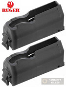 RUGER American Rifle SA 243 308 7mm.08 22-250 4-rd Magazine 2-PACK 90436