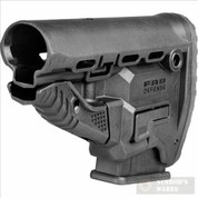 FAB Defense GL-MAG SURVIVAL STOCK + Built-In Mag Carrier + Mag