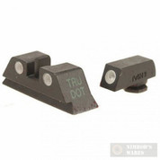Meprolight Glock 10mm/40SW/45ACP Night Sights Green ML-10222