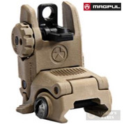MAGPUL MAG248-FDE MBUS Gen2 REAR Flip-Up Back-Up Sight