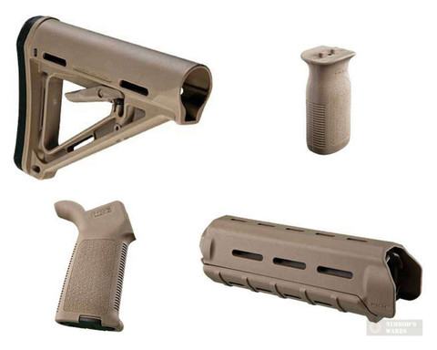 Magpul MOE COMMERCIAL-SPEC KIT in Flat Dark Earth COMKIT-FDE