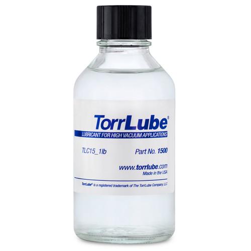 TorrLube TLC 15 Oil - High Temperature and Deep Vacuum Lubricating Oil - 240cc in Glass Bottle