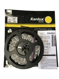5 Metres Kanlux Basic 12V LED 5050 Strip Lights RGB IP00 150 LEDs