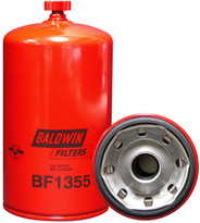 Baldwin BF1355 Fuel/Water Separator Spin-on with Drain