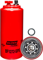Baldwin BF1272-SPS FWS Spin-on with Drain, Sensor Port and Reusable Sensor