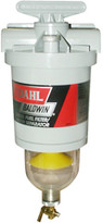 Baldwin 150-H Diesel Fuel/Water Separator with In-Filter Heater - Toggle Switch
