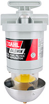 Baldwin 150-M Diesel Fuel/Water Separator-UL Listed Meets U.S. Coast Guard requirements