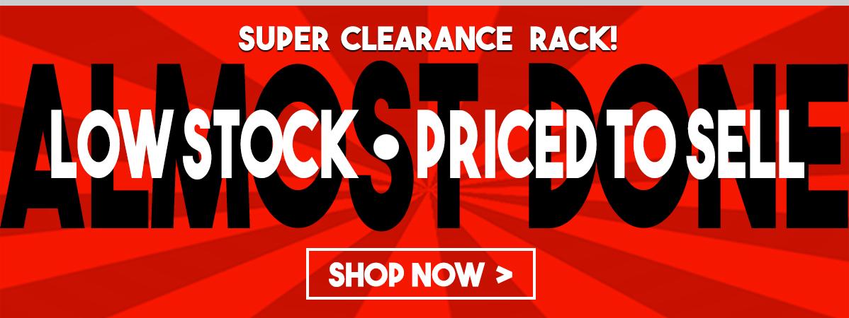 Super Clearance Rack