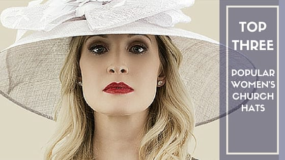Popular church hats for women