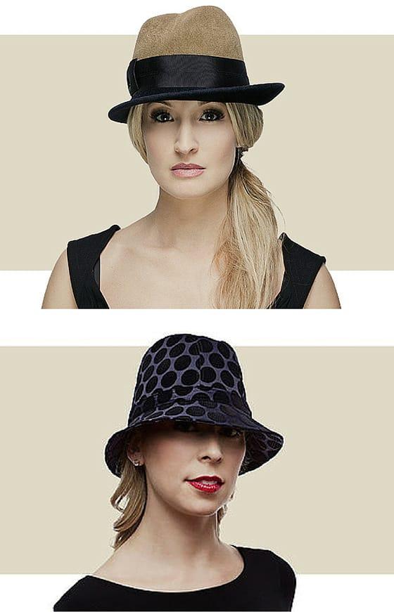Women's cloche hats