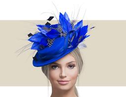 COWEN - Royal Blue, Black and White