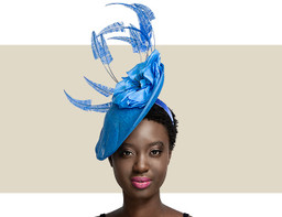 VANESSA - Royal Blue and Black