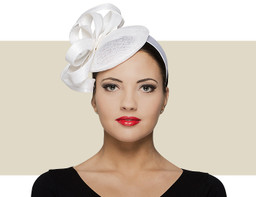 FANCY BERET - White