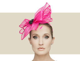 TALLULA - Hot Pink with Black
