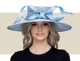 NEW PROPORTION HAT - Dusky Blue