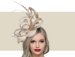 FEATHER HEADPIECE - Natural