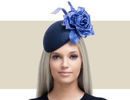 FEDERICA - Navy Blue and Cerulean