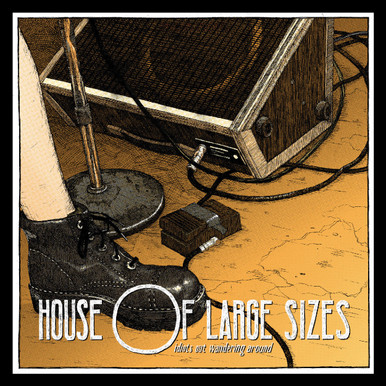 """House Of Large Sizes """"Idiots Out Wandering Around"""" live album reissue."""
