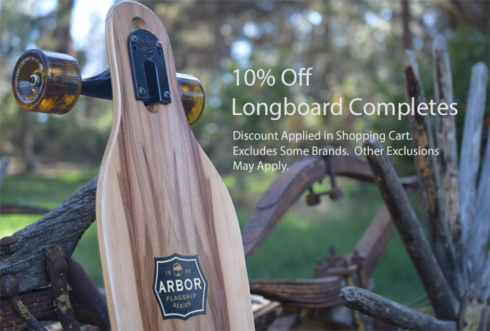 "Arbor Axis Flagship Series 40"" Drop Through Longboard- The Longboard Store"